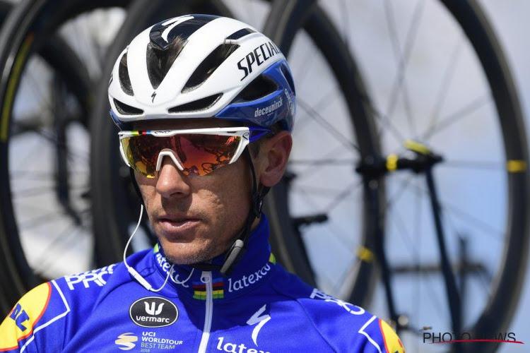 🎥 Philippe Gilbert traint in shirt van Deceuninck-Quick.Step mee bij Lotto Soudal