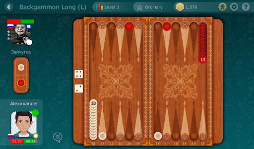 Backgammon LiveGames - live free online game  captures d'u00e9cran 8
