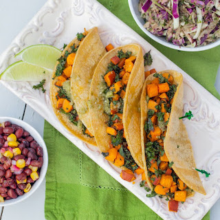 Sweet Potato & Kale Tacos.