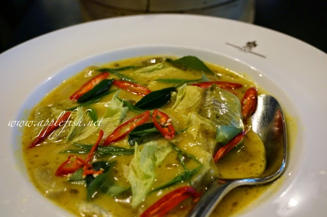 Herring in Curry Sauce @ Goh Siong Tee (GST) Seafood