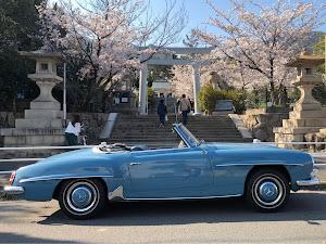 190SL  190sl   1958年のカスタム事例画像 しゅうさんの2020年04月04日22:34の投稿