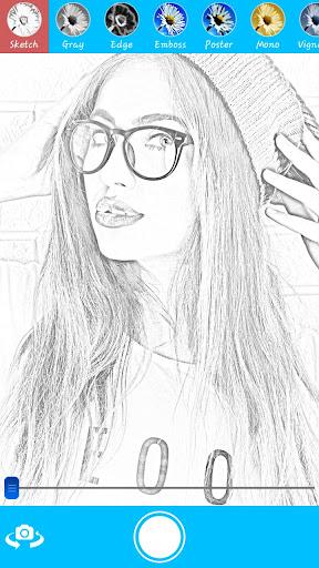 草图Selfie摄像拍照