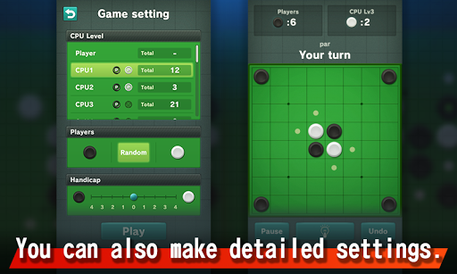 Reversi Free - King of Games apkpoly screenshots 3