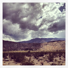 Photo: Looking at a storm developing over Rattlesnake Canyon