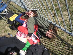 Photo: Uppladdning innan tävlingen