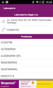PR Vademécum Bagó screenshot 1