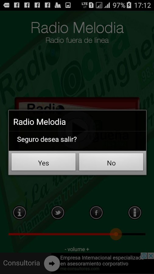 Radio Melodia Yungueña- screenshot
