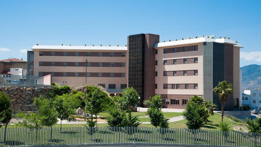 Imagen del exterior de la residencia de Macael.