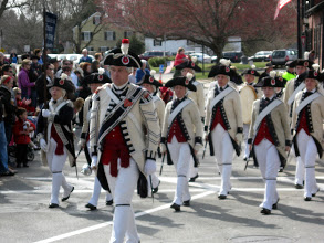 Photo: THE HANDSOMELY DRESSED REDCOATS!