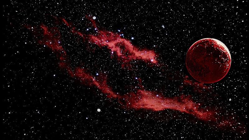 Marte il piante Rosso  di AndreaFivre