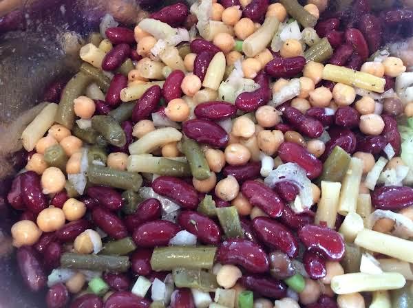 Elaine's Crazy Quilt Bean Salad (circa 1965) Recipe