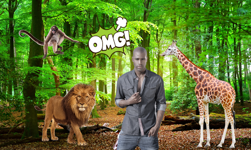 wild animal photo frames screenshot 2