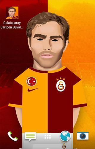 Galatasaray Çizim Duvar Kağıdı