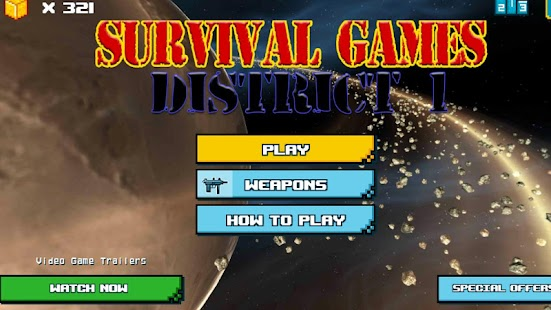 Survival Games - District1 FPS - náhled