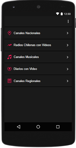 Reproductor Simple de TV Chilena 4.0 androidtablet.us 1