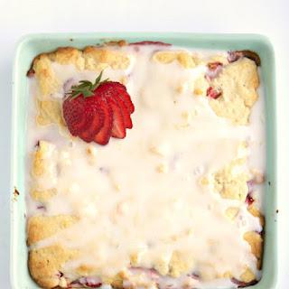 Lemon Pastry Bars with Strawberries