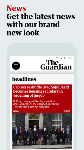 The Guardian screenshot 1