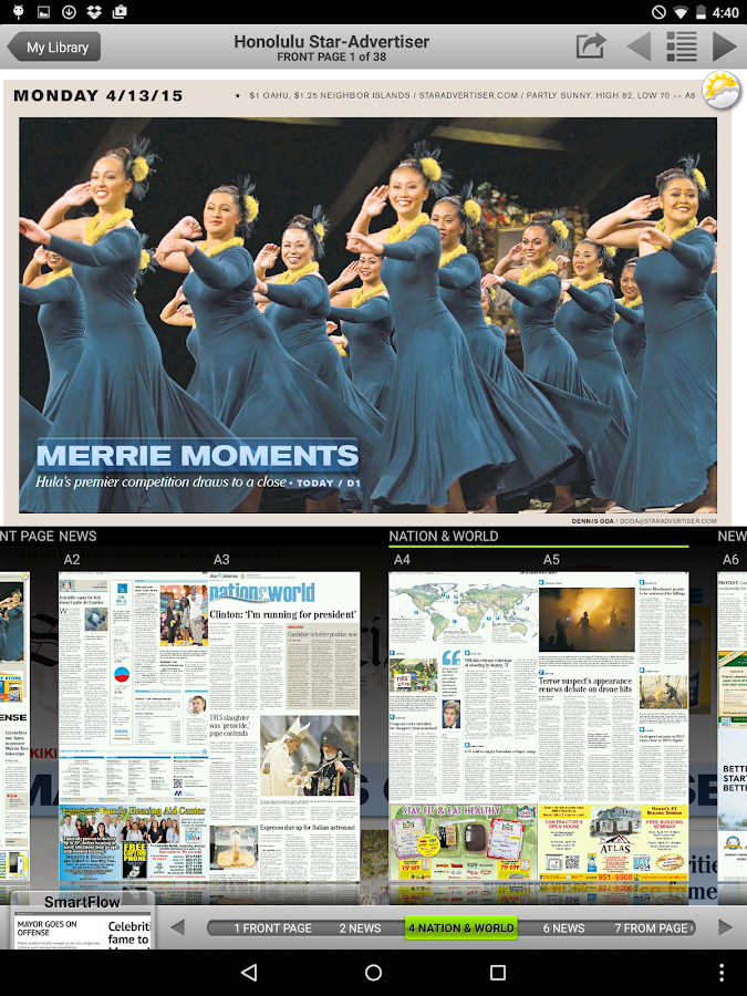 Honolulu Star-Advertiser Premi - screenshot