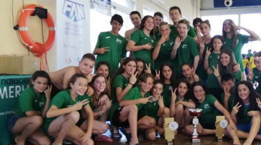 El CN Almería es de oro
