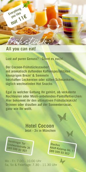 Photo: Frühstückszauber Hotel Cocoon Flyer RS