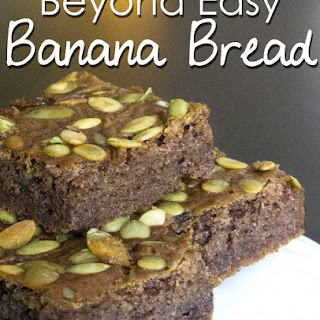 Beyond Easy Banana Bread {with Plantains!}