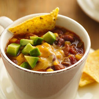 Slow-Cooker Southwest Beef and Bean Soup.