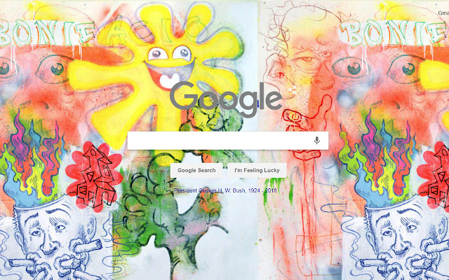 Painting by Gusky for Google Background