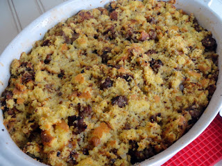 Carmelized Onion Cornbread Dressing Recipe
