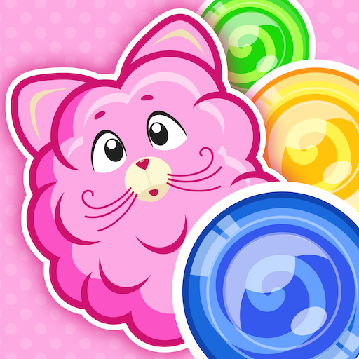 Cotton Candy Mouse Bubble 休閒 App LOGO-硬是要APP