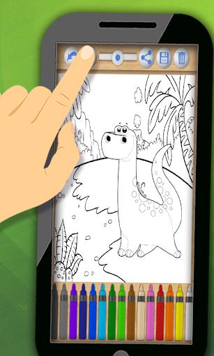 無料娱乐Appのペイントする恐竜 カラー ブック|記事Game