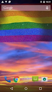 Rainbow Flag LWP (LGBT Pride)- screenshot thumbnail