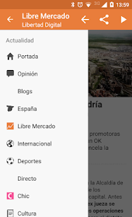 Libertad Digital- screenshot thumbnail