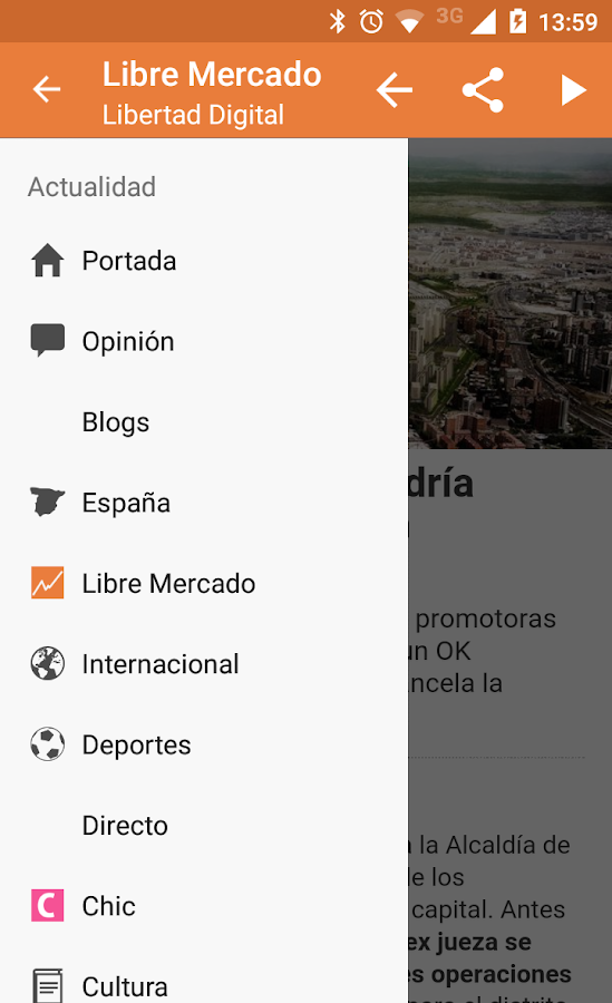 Libertad Digital- screenshot