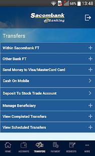 Sacombank mBanking - náhled