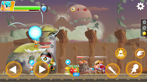 Hero the Man - Transform to Super Z SSJ Warriors 1.6.0.186 screenshots 8