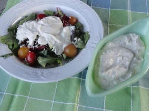 """Click Here for Recipe: Best Ever Ranch Parmesan Dressing """"YUMMY! Perfect timing..."""