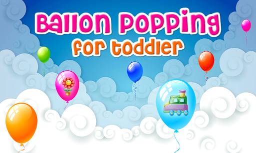 Balloon Popping For Toddler HD Screenshot