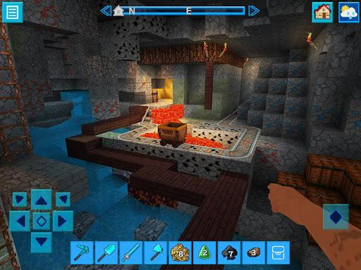 RaptorCraft 3D: Survival Craft u25ba Dangerous Worlds  screenshots 4