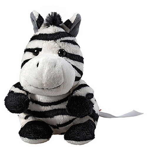 Plush Toy Screen Cleaners - Large Zebra