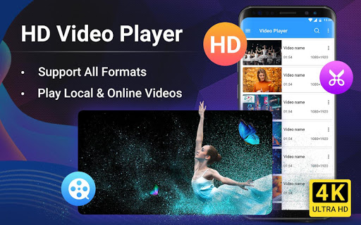 Video Player Pro - Full HD & All Formats& 4K Video 1.1.2 screenshots 1