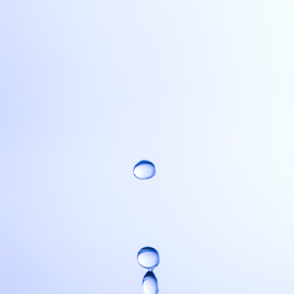 Drops by Xióng Xióng - Abstract Water Drops & Splashes ( water, life, waterdrop, blue, waterforlife, singledrop )