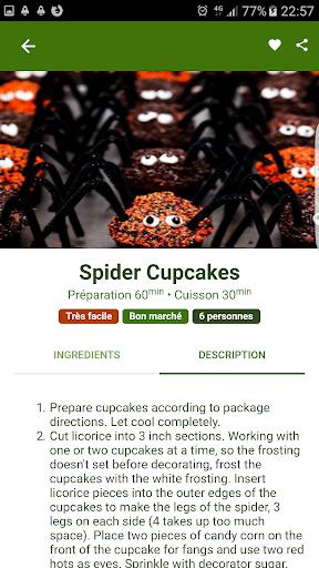 Halloween Recipes 1.0.1 screenshots 2