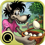 Wolf on the Farm in color Icon