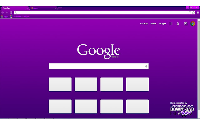 Vivacious purple chrome web store altavistaventures Images