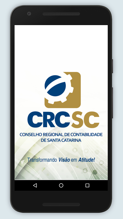 CRCSC: captura de tela