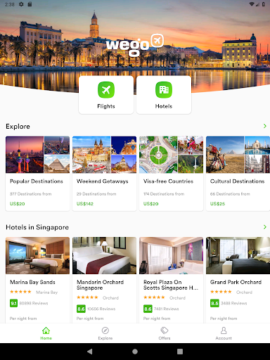 Wego Flights, Hotels, Travel Deals Booking App 6.0.7 Screenshots 9