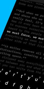 iA Writer: Einfach schreiben mit Markdown Screenshot