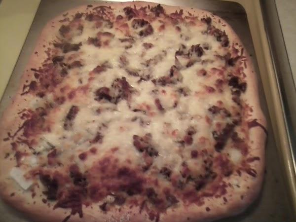 Leftover Roast Beef Pizza Recipe