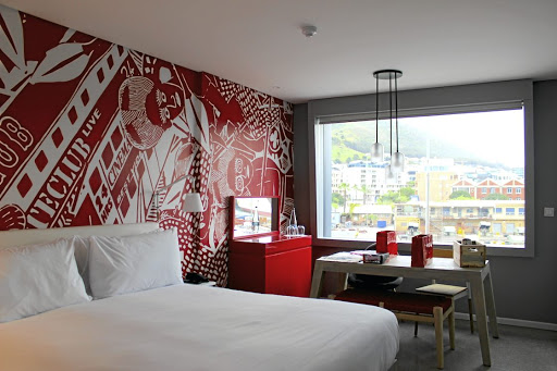 Cape Town's Radisson Red hotel is a monument to style, eccentricity and technological advances.