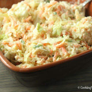 Lightened Up Coleslaw